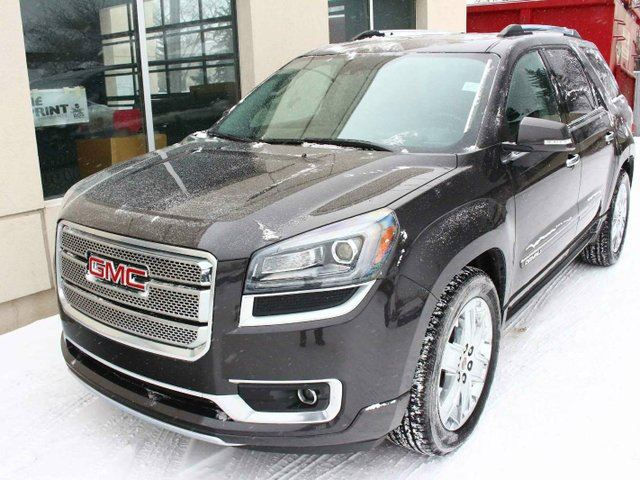 2016 gmc acadia denali awd loaded 1 owner finance. Black Bedroom Furniture Sets. Home Design Ideas