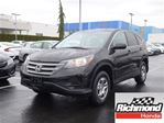 2014 Honda CR-V LX! Honda Certified Extended Warranty to 120, 000 in Richmond, British Columbia