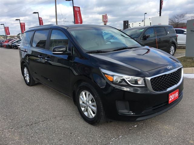 2016 kia sedona lx save thousands from new only paymen grimsby ontario used car for. Black Bedroom Furniture Sets. Home Design Ideas