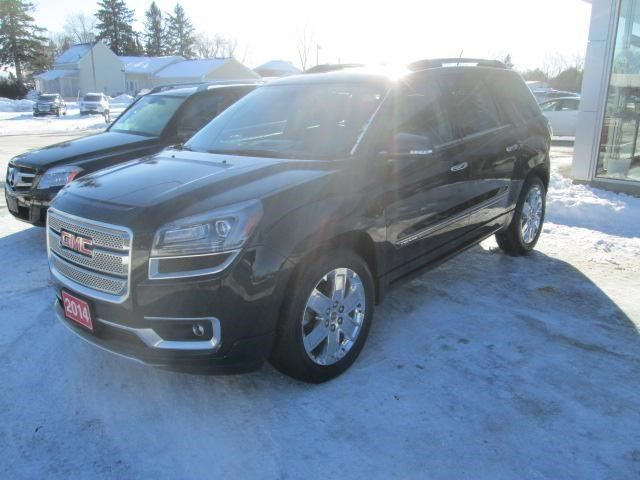 2014 gmc acadia denali green valley ontario used car for sale 2677269. Black Bedroom Furniture Sets. Home Design Ideas