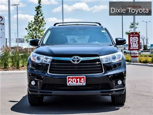 2014 toyota highlander limited mississauga ontario used car for sale 2677694. Black Bedroom Furniture Sets. Home Design Ideas