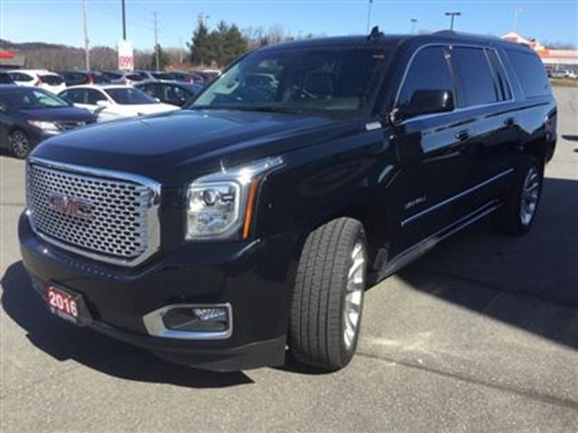 2016 gmc yukon xl denali huntsville ontario used car for sale 2677731. Black Bedroom Furniture Sets. Home Design Ideas