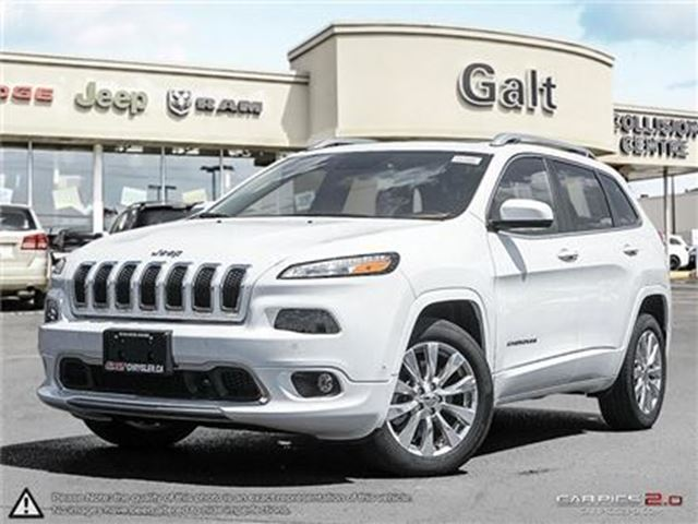 2016 JEEP Cherokee OVERLAND   X COMPANY DEMO   LEATHER   NAV   PANO in Cambridge, Ontario