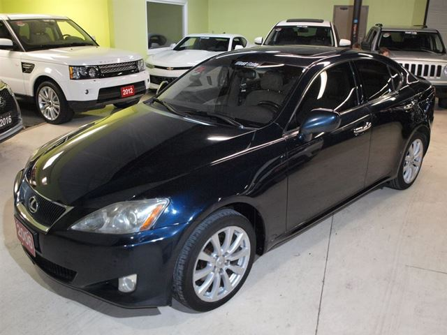 2006 lexus is 250 awd navigation vaughan ontario used. Black Bedroom Furniture Sets. Home Design Ideas