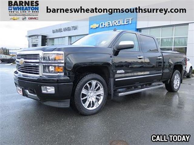2014 chevrolet silverado 1500 high country loaded with options surrey british columbia used. Black Bedroom Furniture Sets. Home Design Ideas
