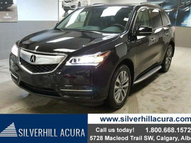 2015 ACURA MDX Tech Package SH-AWD *Navi,DVD,Fronts & Second Row Heated Seats* in Calgary, Alberta