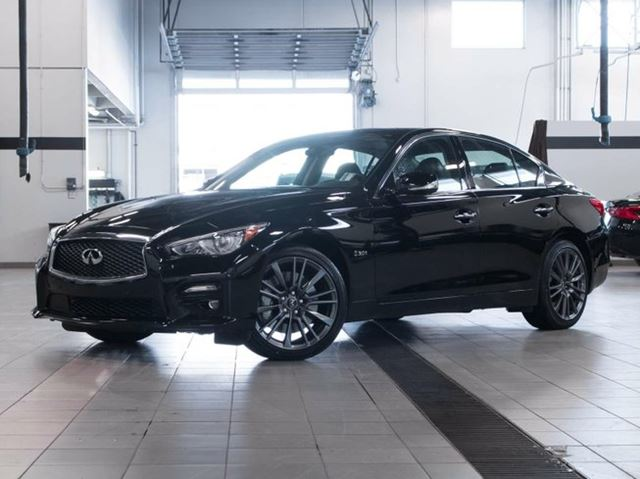 2016 Infiniti Q50 S 3.0 Twin-Turbo All-wheel Drive with Premium, Driver Assistance and Technology Package in Kelowna, British Columbia