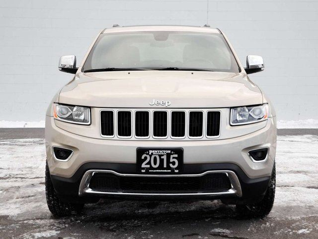 2015 jeep grand cherokee limited navigation kelowna british columbia used car for sale 2677990. Black Bedroom Furniture Sets. Home Design Ideas