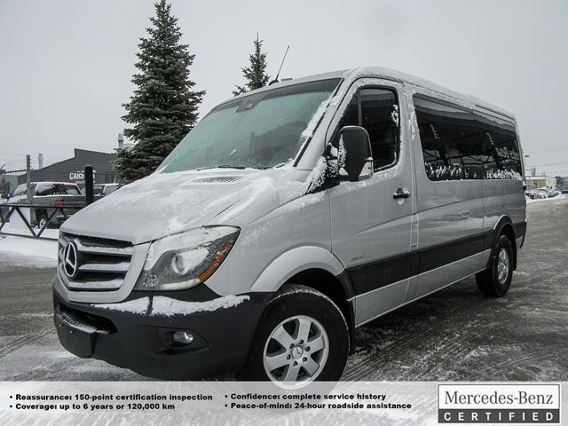2016 mercedes benz sprinter 2500 passenger 144 ottawa for Sprinter mercedes benz 2016