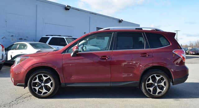 2016 subaru forester limited with technology st catharines ontario used car for sale 2678043. Black Bedroom Furniture Sets. Home Design Ideas