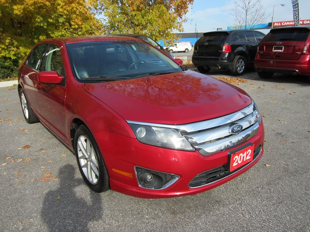 2012 ford fusion sel orillia ontario used car for sale 2678730. Black Bedroom Furniture Sets. Home Design Ideas