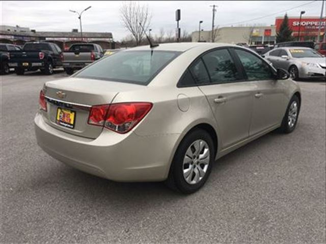 used 2013 chevrolet cruze i 4 cy ls keyless entry st catharines. Black Bedroom Furniture Sets. Home Design Ideas