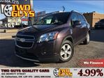 2014 Chevrolet Trax 1LT LOW KMS!!  LUGGAGE RACK KEYLESS ENTRY in St Catharines, Ontario