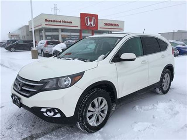 2014 honda cr v ex l stratford ontario used car for sale 2678798. Black Bedroom Furniture Sets. Home Design Ideas