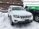 2015 Jeep Compass North   ONE OWNER   LEATHER   4WD in London, Ontario