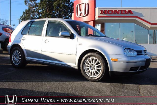 2006 VOLKSWAGEN GOLF GLS TDI Manual in Victoria, British Columbia