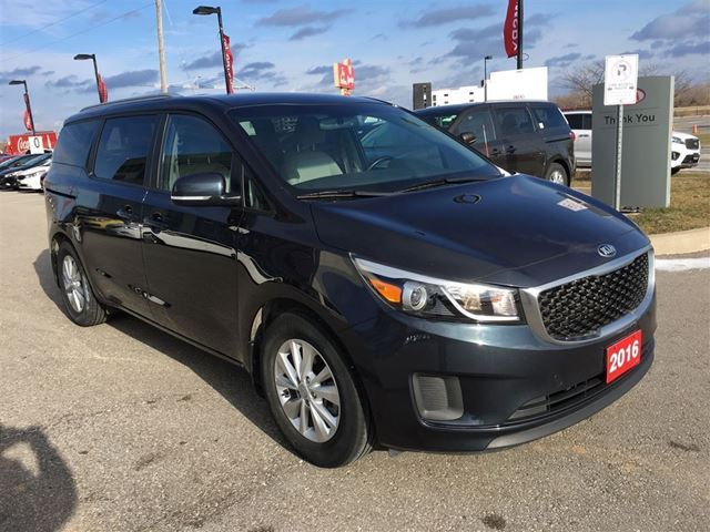 used 2016 kia sedona lx save 10 000 from new grimsby. Black Bedroom Furniture Sets. Home Design Ideas