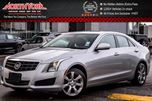 2014 Cadillac ATS AWD Sunroof RearCam HtdFrontSeats Bluetooth SatRadio Bose 17Alloys  in Thornhill, Ontario