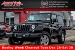 2017 Jeep Wrangler NEW Car Sport 4x4 Convenience,Dual Top Pkgs KeylessEntry AC 17Alloys  in Thornhill, Ontario