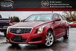 2014 Cadillac ATS AWD Sunroof Bluetooth Leather Heated Front Seats Keyless Go 17Alloy Rims in Bolton, Ontario