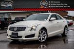 2014 Cadillac ATS AWD Navi Sunroof Backup Cam Bluetooth Leather Heated Front Seat 17Alloy Rims in Bolton, Ontario