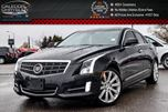 2014 Cadillac ATS Premium AWD Navi Sunroof Backup Cam Bluetooth R-Start 18Alloy Rims in Bolton, Ontario