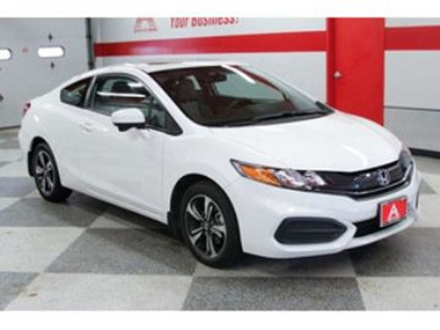 2015 honda civic coupe 2dr ex 5 speed manual white lease busters. Black Bedroom Furniture Sets. Home Design Ideas