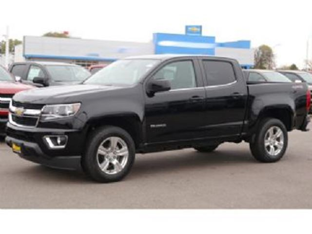2016 Chevrolet Colorado Crew Cab WT 2WD short box in Mississauga, Ontario