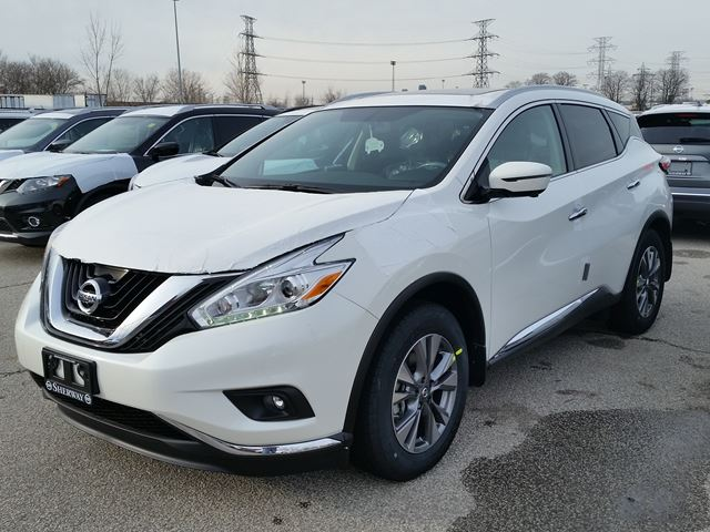 2017 nissan murano sl white sherway nissan new car brampton guardian. Black Bedroom Furniture Sets. Home Design Ideas