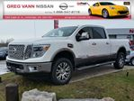 2016 Nissan Titan XD XD Platinum Reserve 4x4 w/all leather,NAV,rear cam,climate ctrl,heated-cooled pwr seats in Cambridge, Ontario