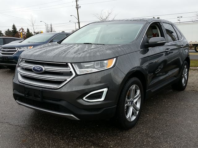 2016 ford edge titanium grey east court ford lincoln. Black Bedroom Furniture Sets. Home Design Ideas