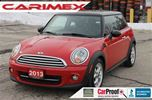 2013 MINI Cooper Cooper   ONLY 42K   CERTIFIED + E-Tested in Kitchener, Ontario