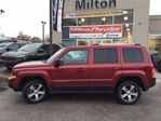 2016 Jeep Patriot HIGH ALTITUDE 4X4 LEATHER NAVIGATION SUNROOF in Milton, Ontario