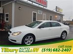 2012 Chevrolet Malibu LS CERTIFIED, PRE OWNED WITH VERY LOW KM in Tilbury, Ontario