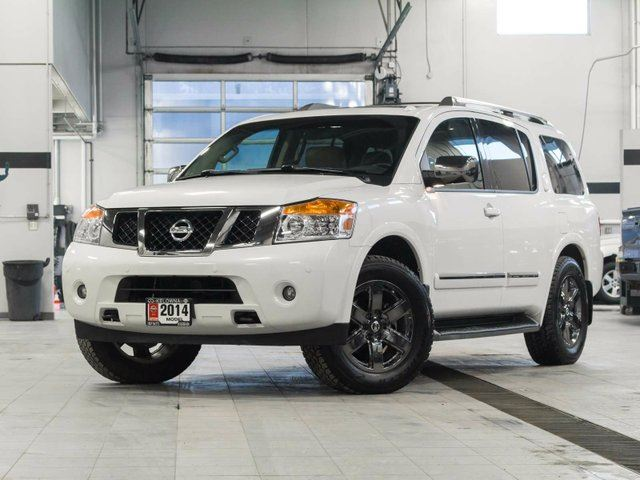 2014 nissan armada platinum w captain chair and reserve packages kelowna british columbia. Black Bedroom Furniture Sets. Home Design Ideas