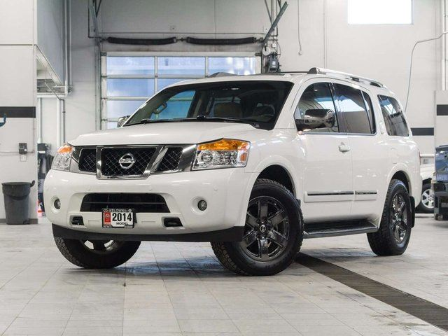 2014 nissan armada platinum wcaptain chair and reserve