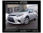 2015 Toyota Corolla LE - HEATED SEATS, BACK-UP CAMERA, BALANCE OF TOYOTA WARRANTY! LUXE CERTIFIED PRE-OWNED!! in Orleans, Ontario