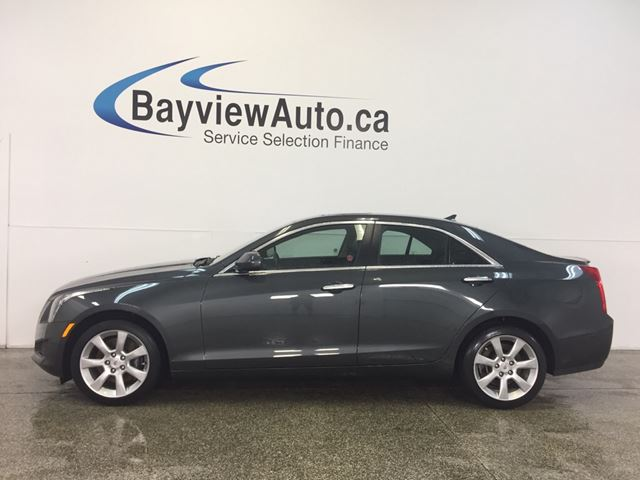 2014 CADILLAC ATS - TURBO! AWD! SUNROOF! LEATHER! BOSE SOUND! in Belleville, Ontario