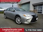 2015 Toyota Camry LE LOCALLY DRIVEN & ACCIDENT FREE in Surrey, British Columbia