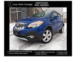 2015 Buick Encore PREMIUM PKG! AWD, NAVIGATION, LEATHER, HEATED SEATS, SUNROOF, BOSE AUDIO, SATELLITE RADIO - BALANCE OF BUICK WARRANTY!! LUXE CERTIFIED PRE-OWNED! in Orleans, Ontario