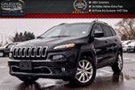 2016 Jeep Cherokee Limited 4x4 Navi Backup Cam Bluetooth Leather R-Start Keyless Entry 18Alloy Rims in Bolton, Ontario