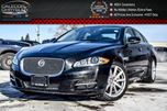 2014 Jaguar XJ Series XJ AWD Navi Pano Sunroof Backup Cam Bluetooth Leather 19Alloy Rims in Bolton, Ontario