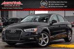 2016 Audi A3 1.8T Komfort CleanCarProof Sunroof HtdFrontSeats Bluetooth 17Alloys  in Thornhill, Ontario