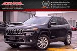 2016 Jeep Cherokee Limited 4x4 SafetyTec,Tech,Luxury Pkgs Nav RearCam DrvrMem 18Alloys  in Thornhill, Ontario