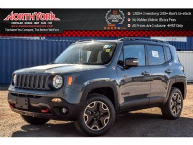 2016 jeep renegade trailhawk mississauga ontario used. Black Bedroom Furniture Sets. Home Design Ideas