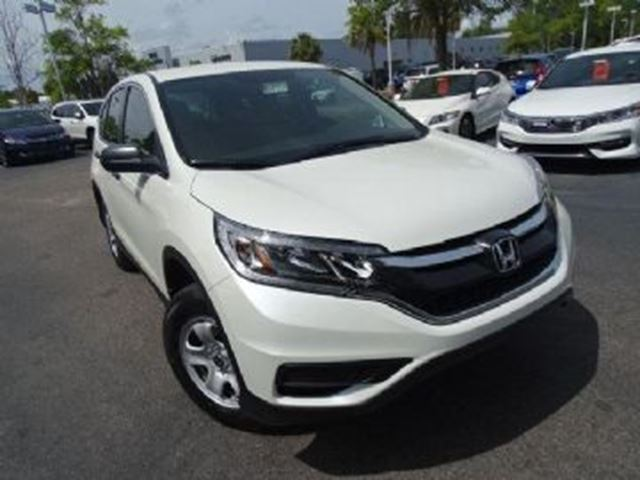 2016 honda cr v 4dr lx awd white lease busters for Honda crv 2016 white