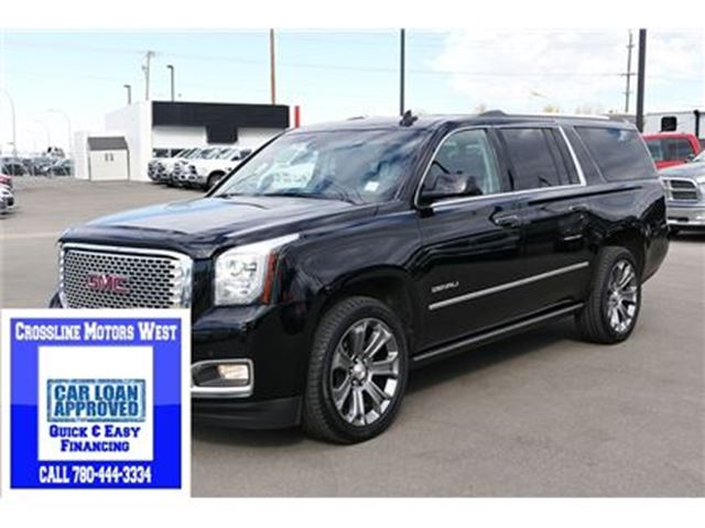 2015 gmc yukon xl denali edmonton alberta used car for sale 2680638. Black Bedroom Furniture Sets. Home Design Ideas