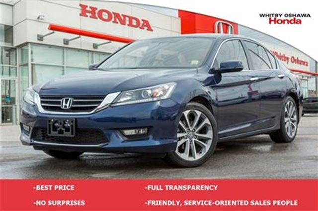 2014 honda accord sport whitby ontario used car for sale 2680736. Black Bedroom Furniture Sets. Home Design Ideas
