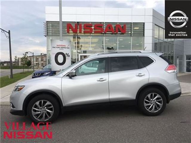 2015 nissan rogue sl awd leather roof markham ontario used car for sale 2681265. Black Bedroom Furniture Sets. Home Design Ideas
