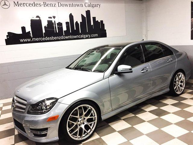 2013 mercedes benz c class c350 4matic premium for How much does a mercedes benz silver lightning cost